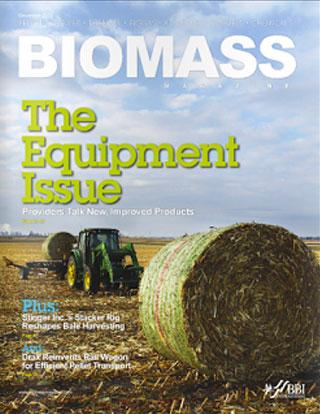 Biomass magazine cover