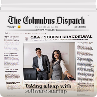 The Columbus Dispatch Q&A with GeoAMPS
