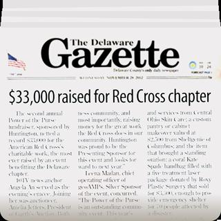 The Delaware Gazette covers GeoAMPS