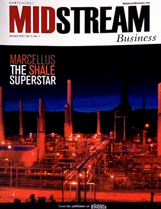 Midstream Business magazine cover