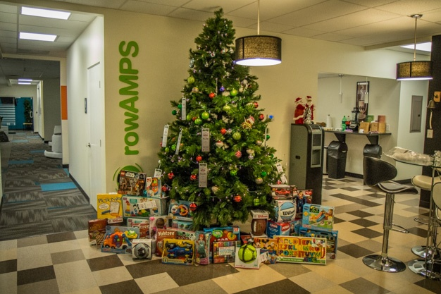 geoAMPS' Associates Make Annual Contribution to Salvation Army Toy Drive